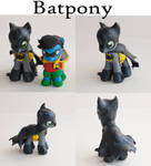 Batpony/Batman G4 MLP Custom figure/toy sculpted
