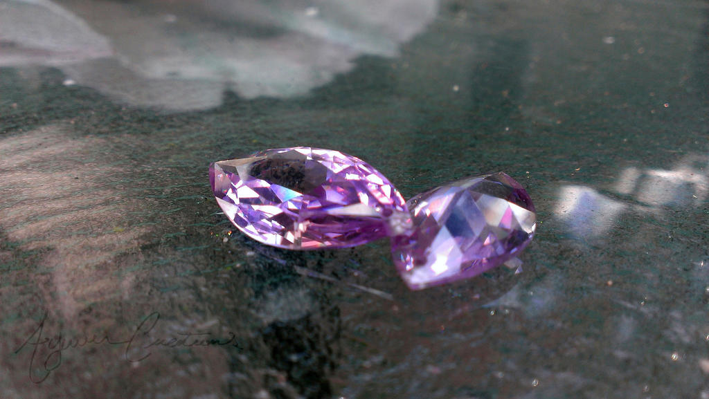 Amethyst Marquise cz by AywenCreations