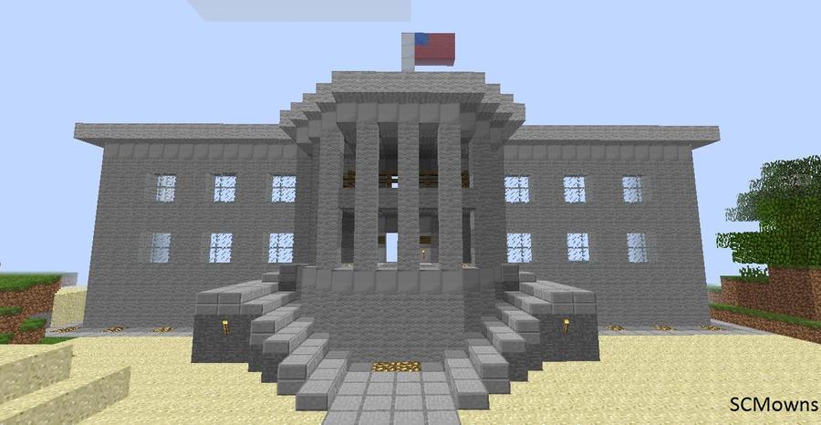 Minecraft White House Download By Scmowns On Deviantart