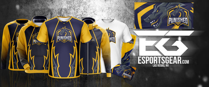 Punished [Esport Apparel Design] by SoberDreams