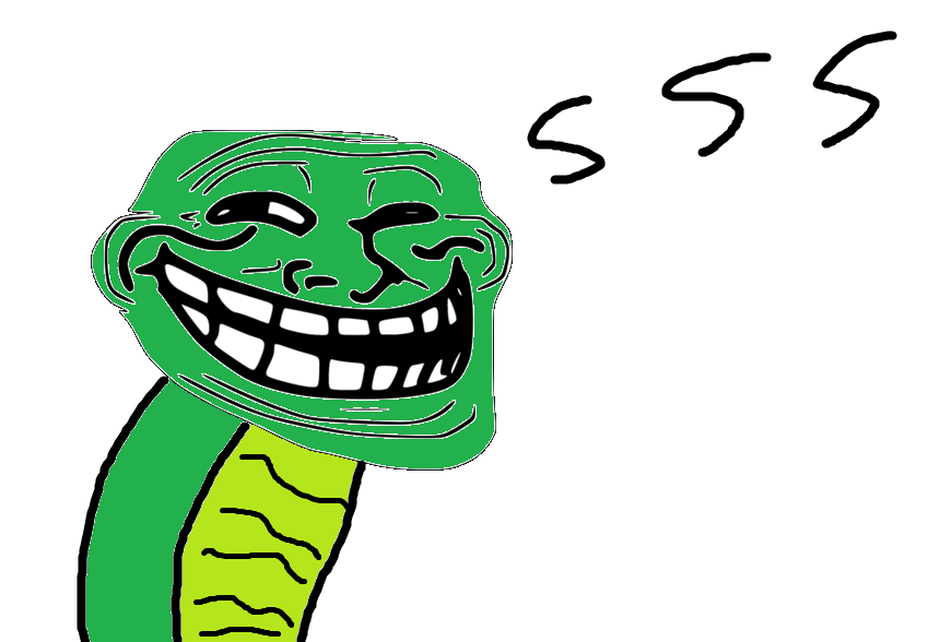 U Jelly Trollface Creeper Troll face by