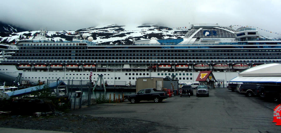 The Sapphire Princess Cruise Ship By Hm923 On DeviantArt