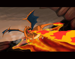 Charizard by Silverdraken