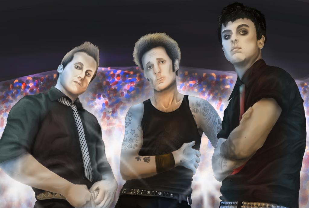 Green Day by Silverdraken