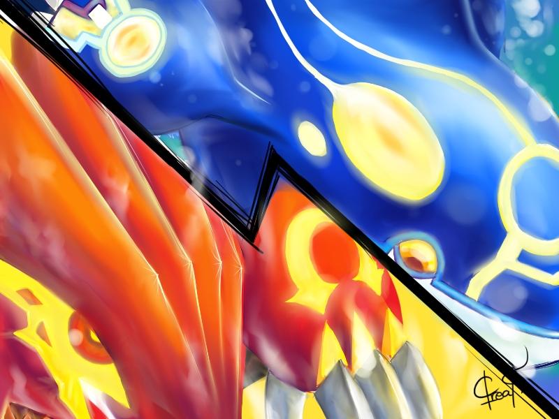 Omega Ruby Alpha Sapphire Wallpaper