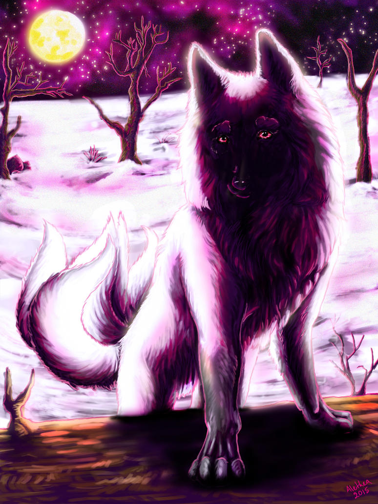 Yobi the Five-Tailed Fox by Wolven-Sister
