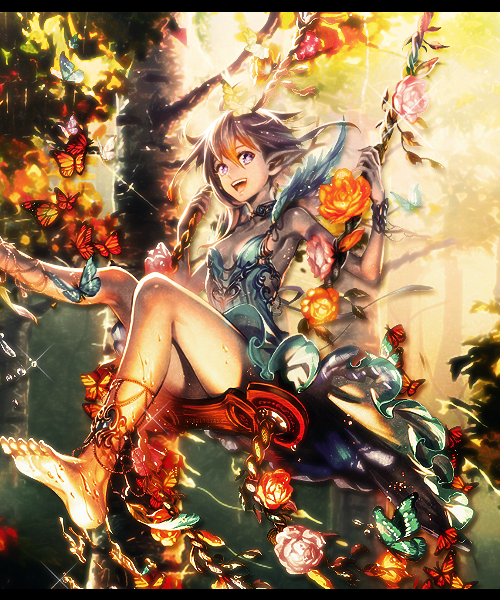 Girl in the Woods by MrReltOtaku