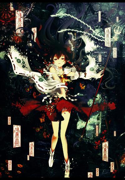 The Shrine Maiden by MrReltOtaku