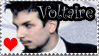 Voltaire Stamp by RottenKindaCute