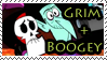 Grim + Boogey Stamp by RottenKindaCute