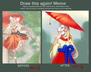 Draw this again : Fox Wedding