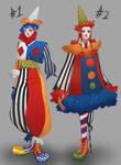 ADOPT I zombie clown adoptables I CLOSED