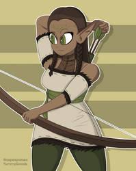 Sam's elf girl