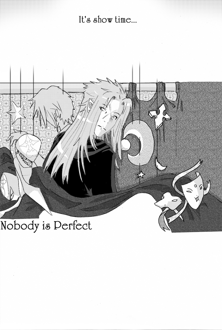 Nobody is perfect by Lucille-Winged