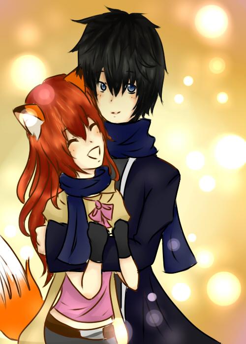 Arami and Ryuu by OrangeBananaCat
