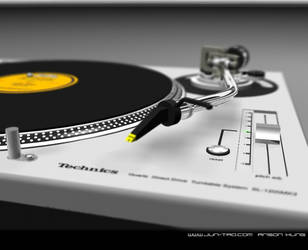 Technics 1200 close-up by juntao