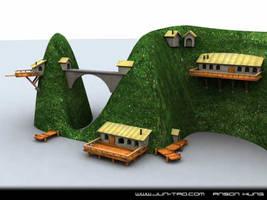 Island WIP by juntao