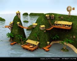 Island by juntao