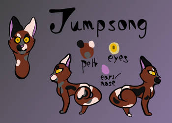 JumpSong Ref (1/3 for SilviaTheWereArter) by Midnytnytmare90