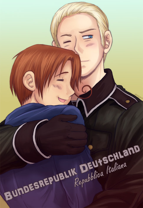 APH   Italy and Germany by TechnoRanma by fioleeprincess