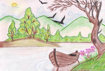 River Bank by SheenMagic