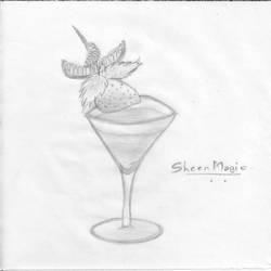 A drink by SheenMagic