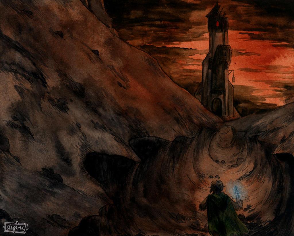 Cirith Ungol by aegeri