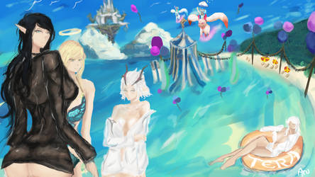 Tera loading screen Contest by Ura-min