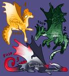 Chibi dragons adopt [2/3 OPEN, 2021]