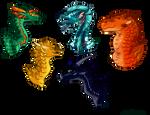 Dragonets [fanart, 2021] by Emisia5