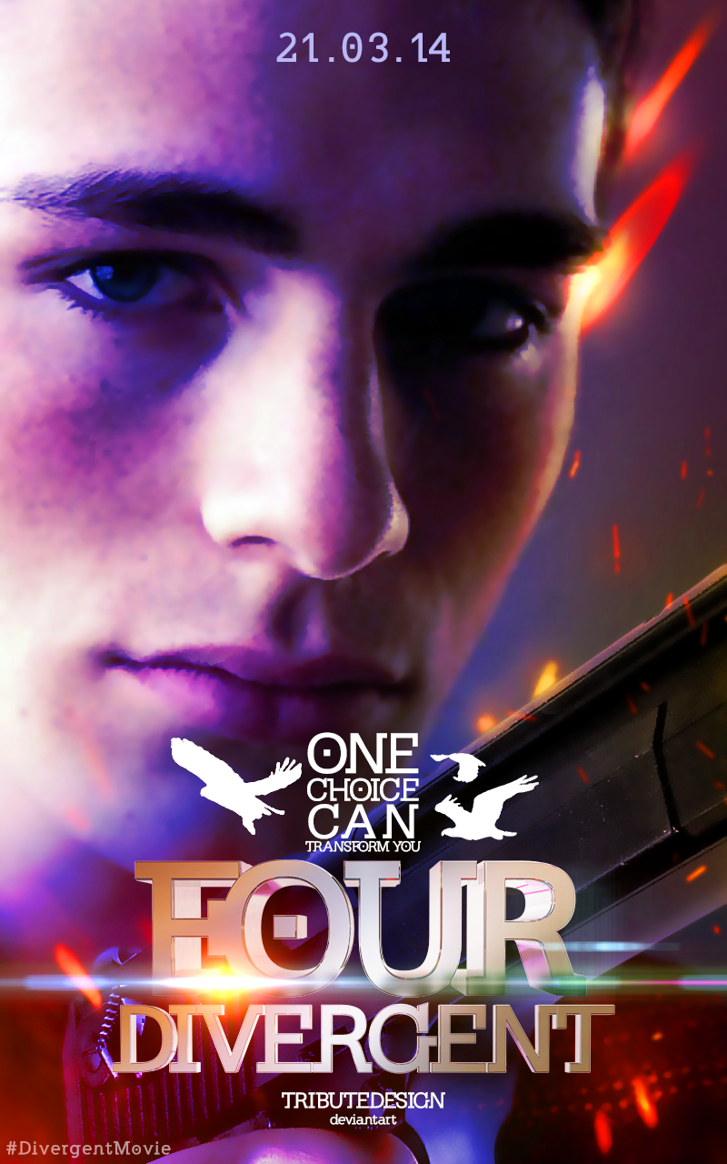 divergent four movie poster - photo #24