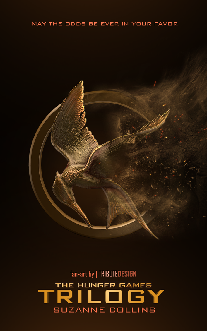 The Hunger Games Trilogy book cover by TributeDesign on ...