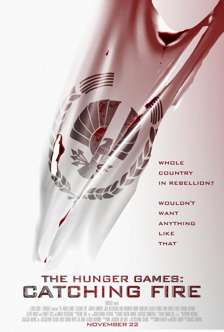 The Hunger Games: A whole country in rebellion by TributeDesign