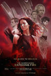 Catching Fire Poster - We Burn To Believe