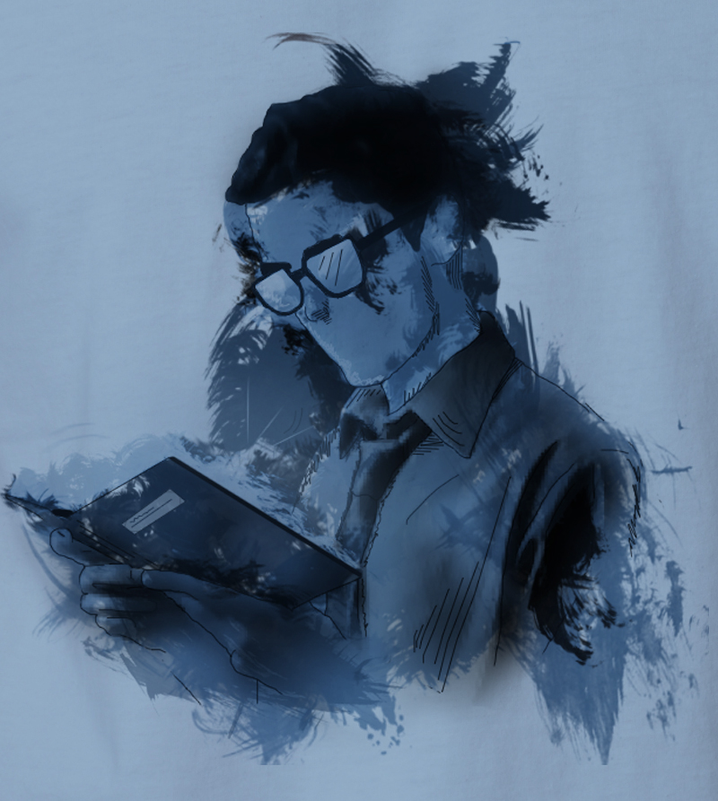 Caleb Prior 'Reading' - T-shirt by TributeDesign on DeviantArt