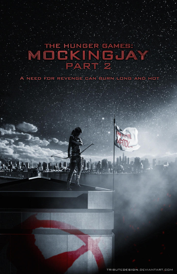 Mockingjay Part 2 Teaser Poster by TributeDesign