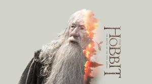 The Hobbit - Gandalf Wallpaper
