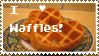 I love waffles stamp by Evil-Kitty-Milkshake