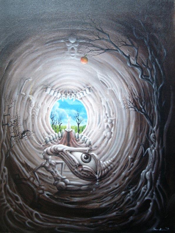 Raus aus dem Wunderland by blau23