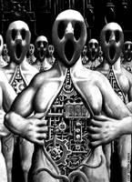 Robotergespenster Ausschnitt by blau23