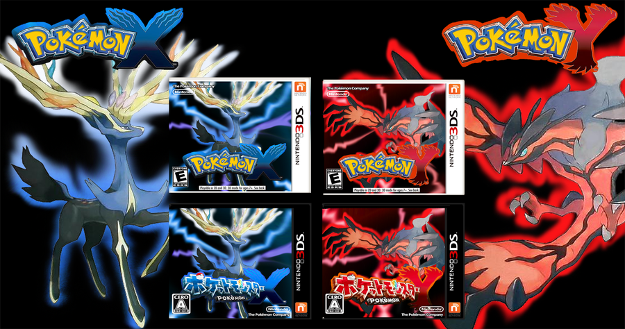 Deviantart more like pokemon x y banner by