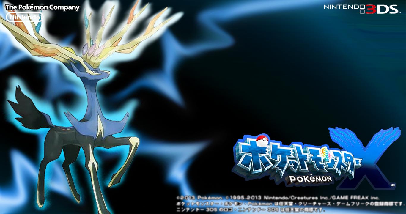 Pokemon X Wallpaper Xerneas Japanese 348296239
