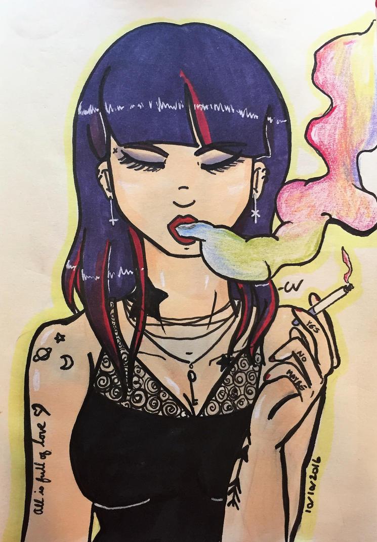 Smoke by heyraynie