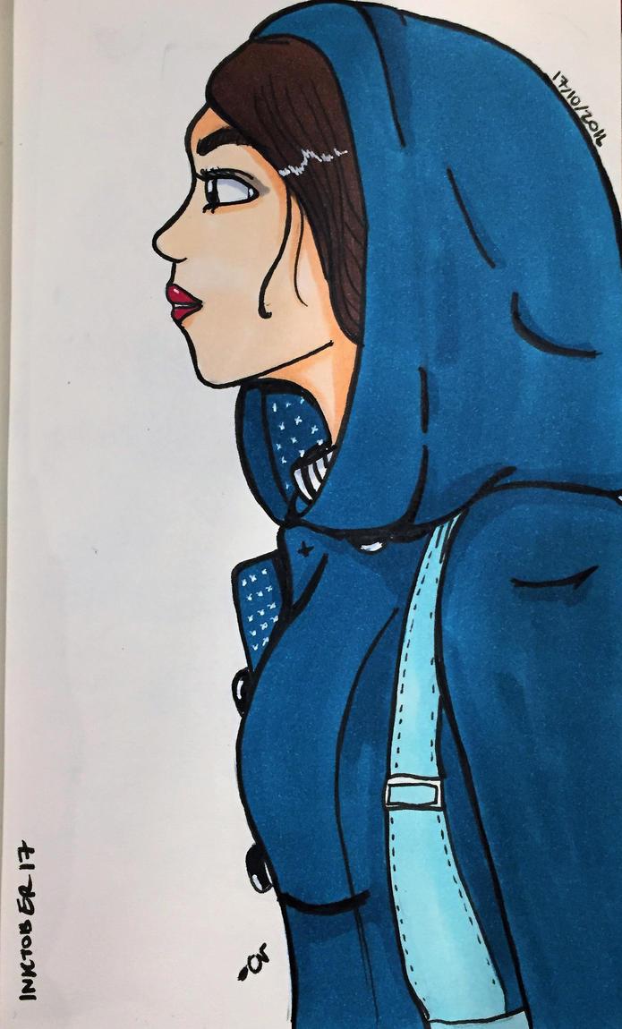 Blue Jacket by heyraynie