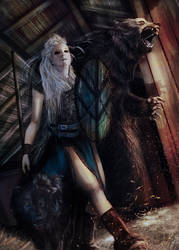 Lagertha, Vikings by EngendrARTE