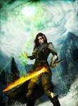 Elf Inquisitor - Dragon Age Inquisition Fanart
