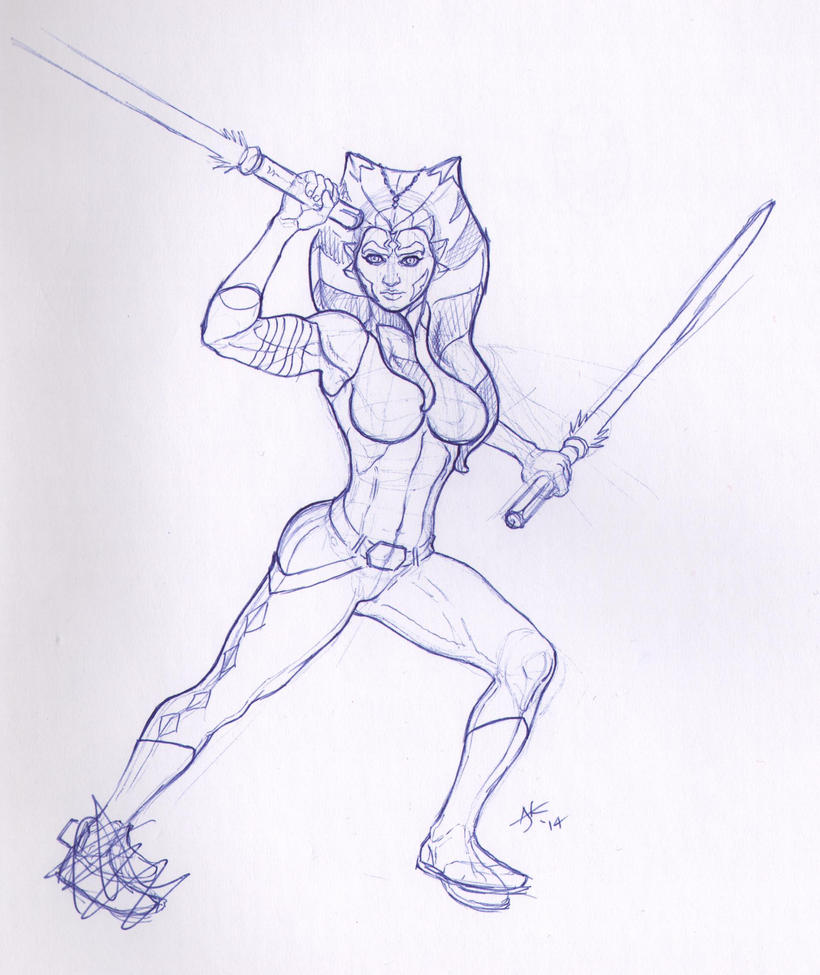 Ahsoka Tahno 001 by MrPlaid81