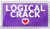Logical Crack Stamp by lupisashes