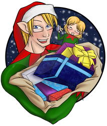 APH: North American Christmas by lupisashes