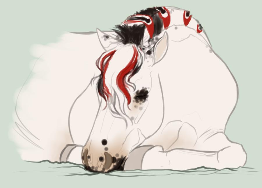 Sleepy shen by PaleMount